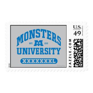 Monsters University - Est. 1313 Postage