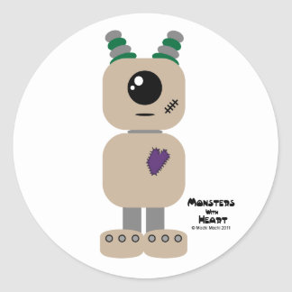 Monsters with Heart series Sticker