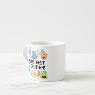Monsters World's Best Big Brother Espresso Cup