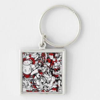 Monsters & Zombies Cartoon Characters Keychains