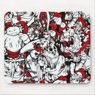 Monsters & Zombies Cartoon Characters Mouse Pads