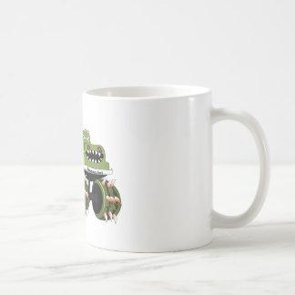 Monstersaurus Truck Coffee Mugs