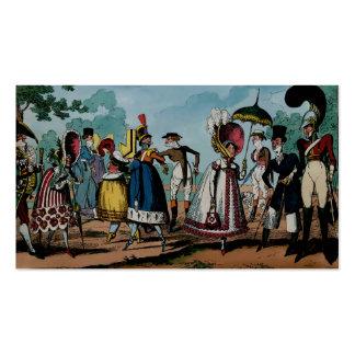 Monstrosities of 1818 ~ Business Card