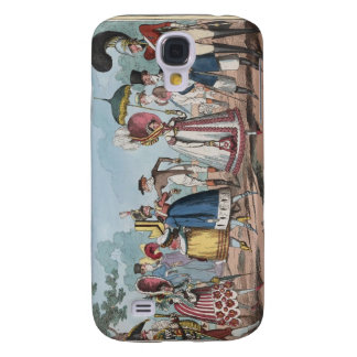 Monstrosities of 1818 Painting Galaxy S4 Case