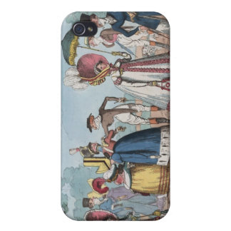 Monstrosities of 1818 Painting Cover For iPhone 4