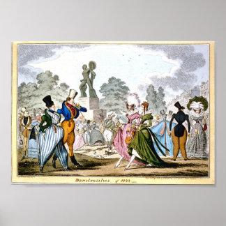 Monstrosities of 1822 Poster