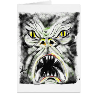 Monstrous Card