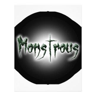 Monstrous Letterhead