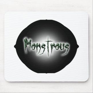 Monstrous Mouse Pad