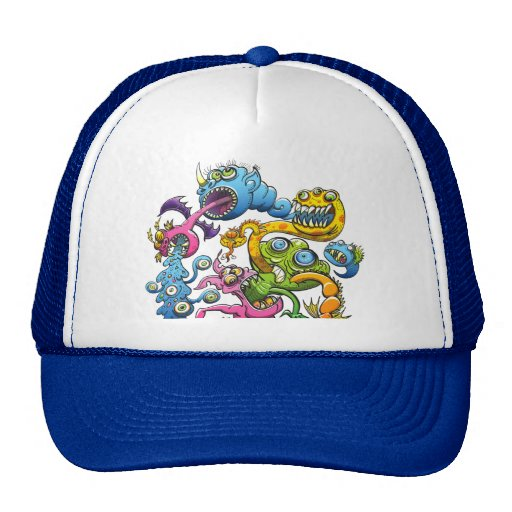 Monstrously Messy Mesh Hat