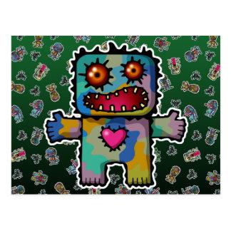 Monstruo 1 postal