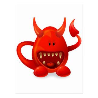 Monstruo 5 postales