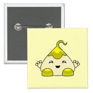 Monstruo amarillo de las cosquillas de Kawaii Pin