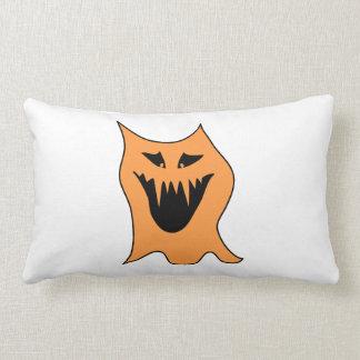 Monstruo anaranjado cojin