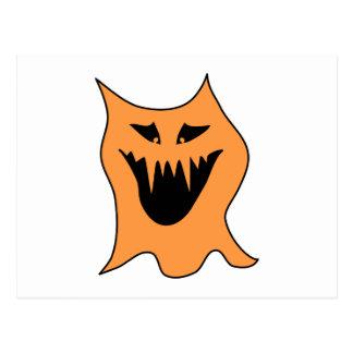 Monstruo anaranjado postales