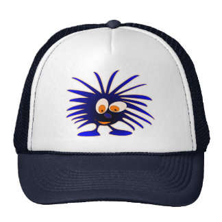 Monstruo azul gorras