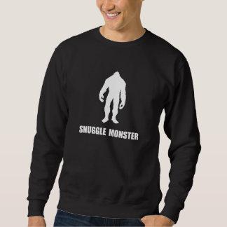 Monstruo Bigfoot del Snuggle Sudadera