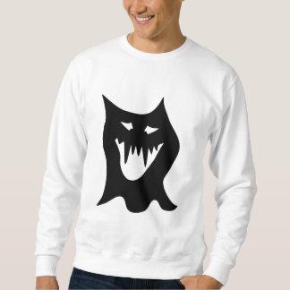Monstruo blanco y negro suéter