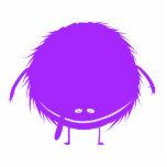 monstruo borroso púrpura del duzzle esculturas fotograficas