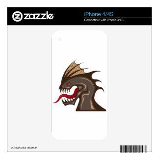 Monstruo Calcomanías Para iPhone 4S