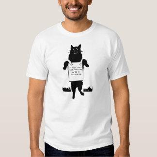 Monstruo Cat Playera