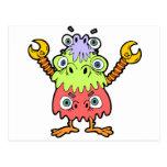 Monstruo de BoKoo-Lue Postales