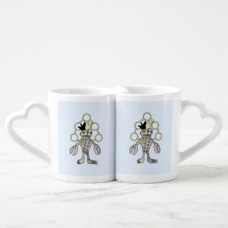 Monstruo de dios de Robo Set De Tazas De Café