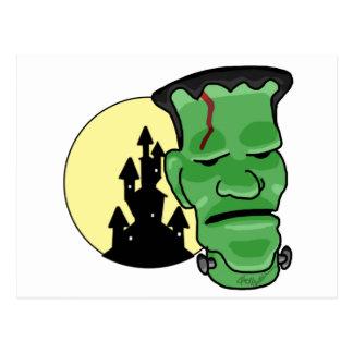 Monstruo de Frankenstein Postal