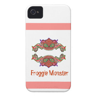 Monstruo de Froggie - dibujo animado de la rana Case-Mate iPhone 4 Funda