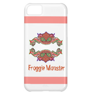 Monstruo de Froggie - dibujo animado de la rana