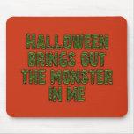 Monstruo de Halloween en mí (verde de Frankenstein Tapete De Ratones