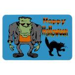 Monstruo de Halloween - imán superior de Flexi del