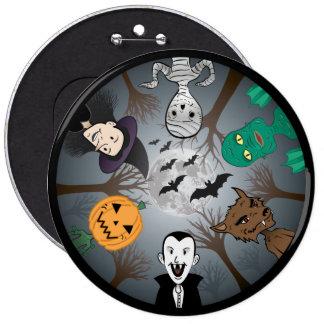 Monstruo de Halloween Pin
