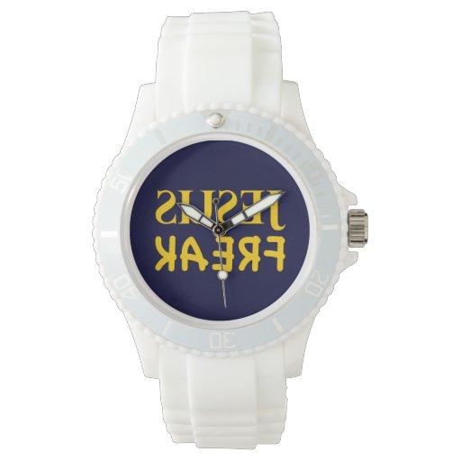 Monstruo de Jesús (SUSEJ KAERF) Relojes De Pulsera