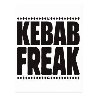 Monstruo de Kebab Tarjeta Postal