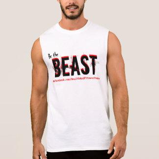 Monstruo de la aptitud - sea la camisa del gimnasi