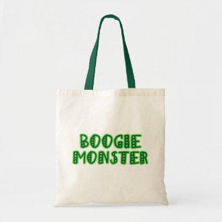 Monstruo de la boogie bolsa lienzo