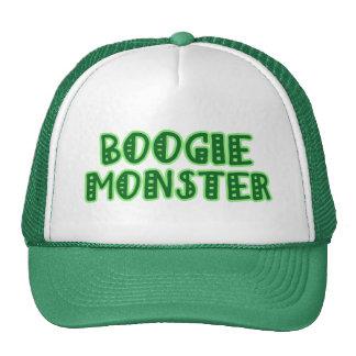 Monstruo de la boogie gorras de camionero