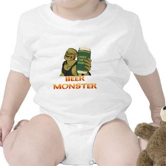 Monstruo de la cerveza traje de bebé