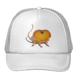 Monstruo de la galleta del lagarto gorra
