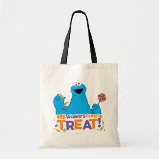 Monstruo de la galleta - elige siempre la bolsa tela barata