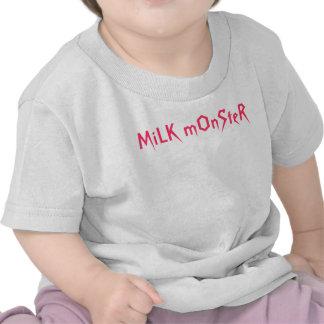 Monstruo de la leche camisetas