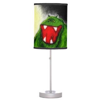 Monstruo de la noche lámpara de mesa