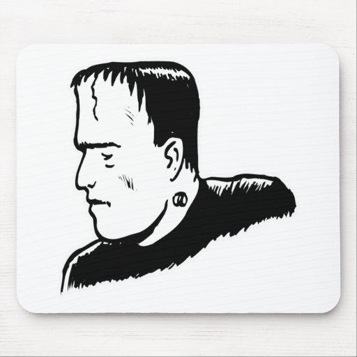 Monstruo de la obra clásica de Frankenstein Alfombrillas De Ratón