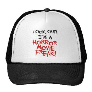 Monstruo de la película de terror gorro de camionero