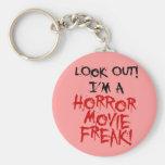Monstruo de la película de terror llavero personalizado