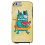 Monstruo de la playa del verano funda de iPhone 6 tough