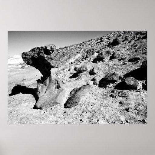 Monstruo de la roca impresiones