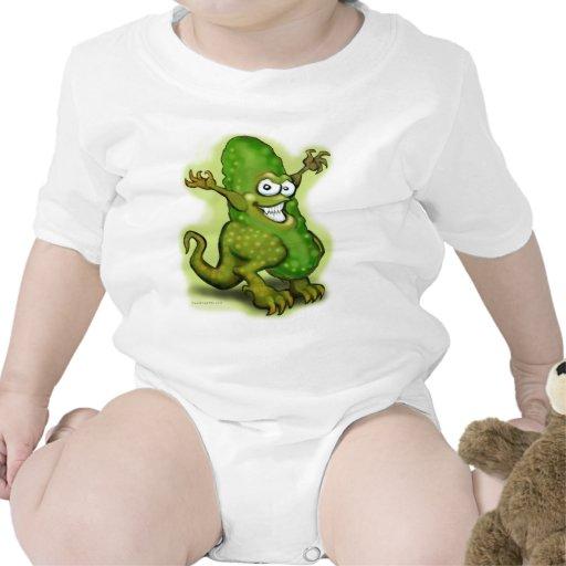 Monstruo de la salmuera traje de bebé