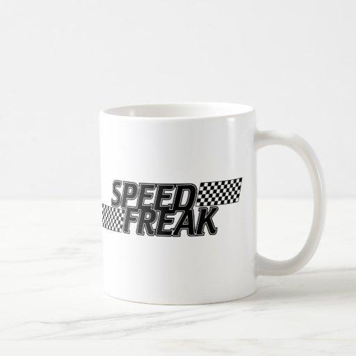 Monstruo de la velocidad taza de café
